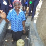 The Water Project: Digula Secondary School -  School Cook Celebrating