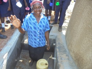 The Water Project:  School Cook Celebrating