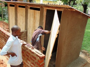 The Water Project : 14-kenya4658-latrines-construction