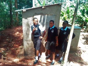 The Water Project : 14-kenya4660-finished-latrines