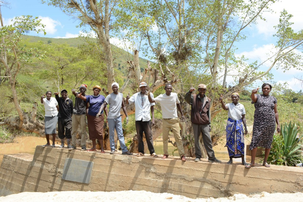 The Water Project : 14-kenya4766-finished-sand-dam
