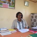 The Water Project: Uvaani Secondary School -  Headteacher Ruth Mutuku