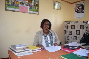 The Water Project:  Headteacher Ruth Mutuku