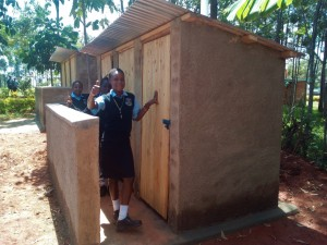 The Water Project : 15-kenya4660-finished-latrines