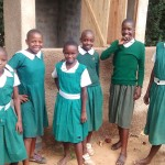 The Water Project : 16-kenya4658-finished-latrines