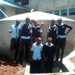 The Water Project: Friends Secondary School Shamakhokho -  Finished Tank