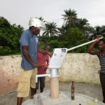 The Water Project: Kulafai Rashideen Primary School -  Pump Installation