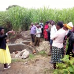 The Water Project: Chegulo Community, Shakava Spring -  Training