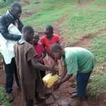 The Water Project: Wamuhila Community -  Children Who Wanted To Show Off Their Hand Washing