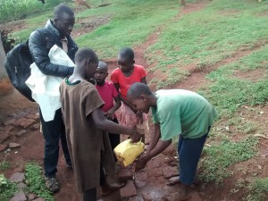 The Water Project:  Children Who Wanted To Show Off Their Hand Washing