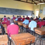 The Water Project: Uvaani Secondary School -  Students In Class