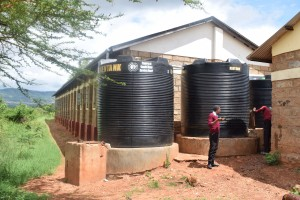 The Water Project:  Plastic And Broken Tanks