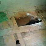 The Water Project: Mtao Community, Tifina Odari Spring -  Latrine