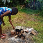 The Water Project: Matsakha A Community, Kombwa Spring -  Preparing A Meal