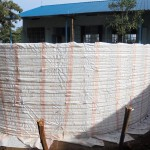 The Water Project: Digula Secondary School -  Tank Walls