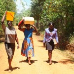 The Water Project : 7-kenya4804-carrying-water