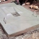 The Water Project: Wamuhila Community -  A Drying Latrine Floor