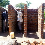 The Water Project: Kalenda Primary School -  Latrine Construction