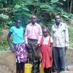 See the Impact of Clean Water - A Year Later: Elkana Mahonga spring