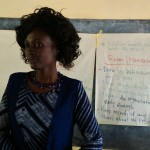 The Water Project: Emurembe Primary School -  Officer Jacqueline Shigali