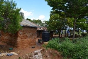 The Water Project:  Antony Mwaluko Household
