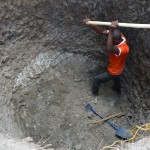 The Water Project: Kivani Community A -  Excavation