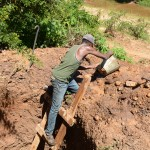 The Water Project : 1-kenya4785-well-excavation