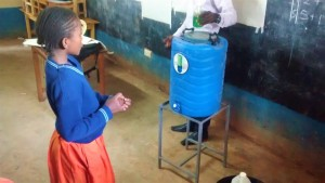 The Water Project:  Hand Washing Demonstration