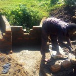 The Water Project: Mumuli Community, Shalolwa Spring -  Construction