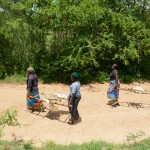 The Water Project: Kivani Community A -  Construction