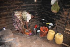 The Water Project : 10-kenya4769-annah-muia-kitchen