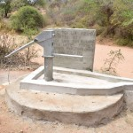 The Water Project: Nzung'u Community C -  Finished Well