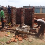 The Water Project: Emukangu Primary School, Butere -  Latrine Construction