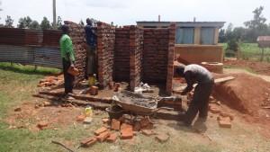 The Water Project : 11-kenya4677-latrine-construction