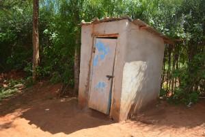 The Water Project:  Mwikali Latrine