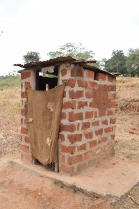 The Water Project:  Janet Mbatha Latrine
