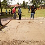 The Water Project: Walodeya Primary School -  Latrine Foundation