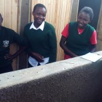 The Water Project: St. Kizito Lusumu Secondary School -  Finished Latrines