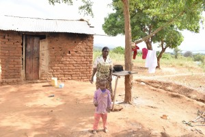 The Water Project:  Annah Muia Household