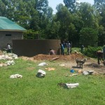 The Water Project: Ibinzo Girls Secondary School -  Tank Construction