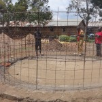 The Water Project: Emukangu Primary School -  Wire Structure For Wall