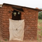 The Water Project: Kithuluni Community A -  Kavila Latrine