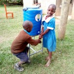 The Water Project: Eregi Mixed Primary School -  Hand Washing Station