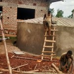The Water Project: Ebukanga Secondary School -  Dome Construction