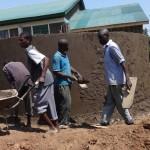 The Water Project: Ibinzo Girls Secondary School -  Tank Construction