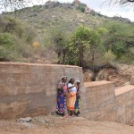 The Water Project: Nzung'u Community B -  Finished Sand Dam