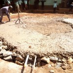 The Water Project: Walodeya Primary School -  Tank Foundation