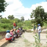 The Water Project: Kivani Community -  Finished Sand Dam