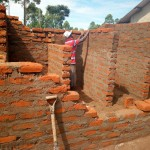 The Water Project: Walodeya Primary School -  Latrine Construction