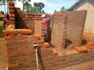 The Water Project : 16-kenya4659-latrine-construction